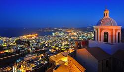 Syros at night