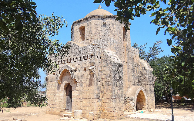 Cyprus-Agios-Mamas-Chapel-Sotira-Village