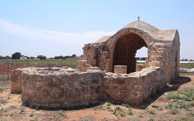 Cyprus-Agios-Theodoros-Church-Sotira-Village