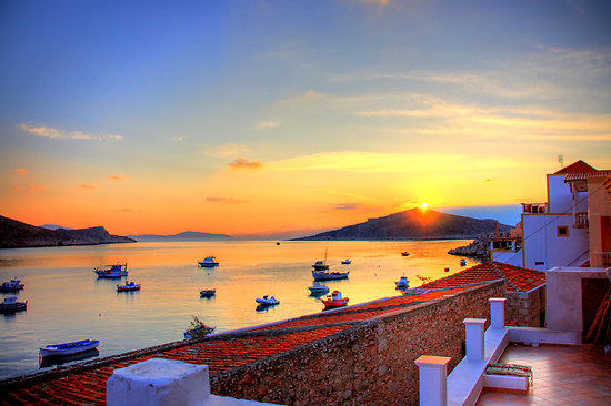 Halki-Sunset