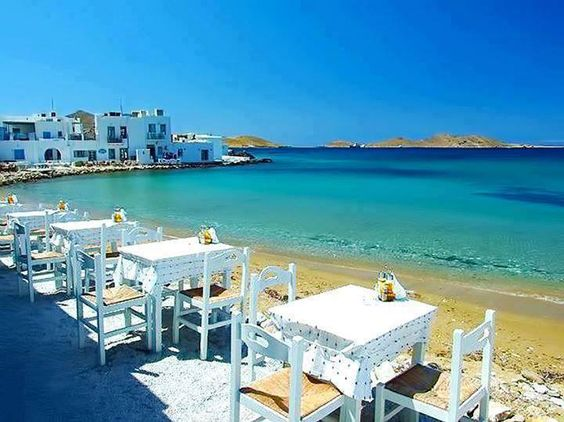 Paros Beach Side