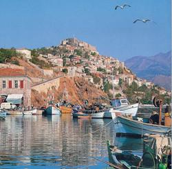 Lesbos-town
