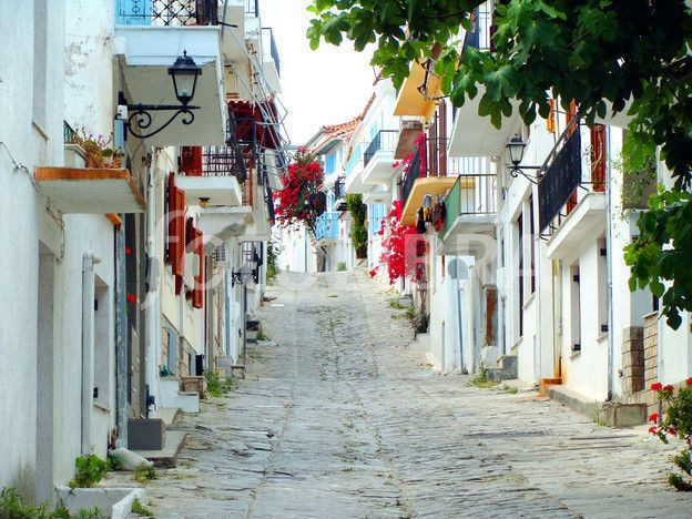 skiathos streets
