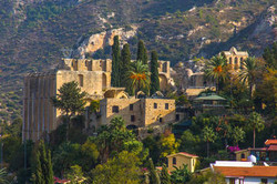 Kyrenia-st-hilarion-castle-and-bellapais-monastery-from-in-girne-333862