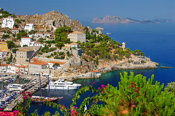 Hydra Saronic Islands Greece