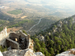 Buffavento Castle-North Cyprus
