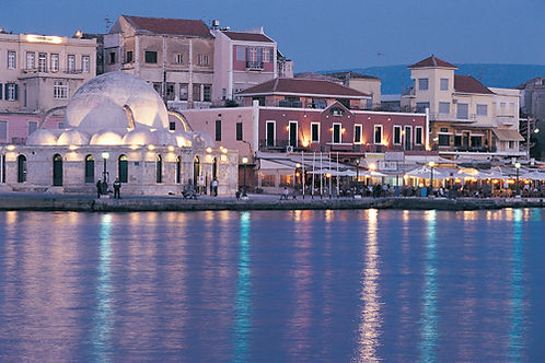 Chania-harbor-Crete