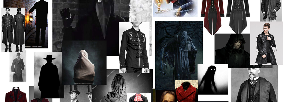 Male Keeper Design Moodboard