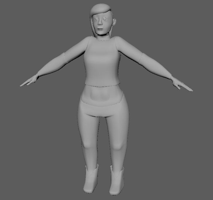 Half-Orc High Poly