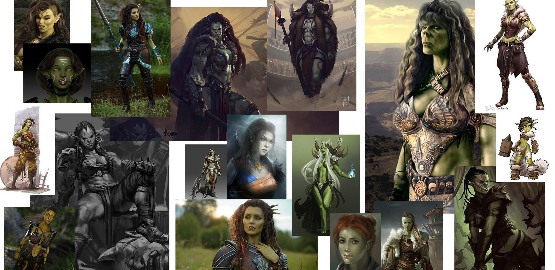 Half-Orc Concept