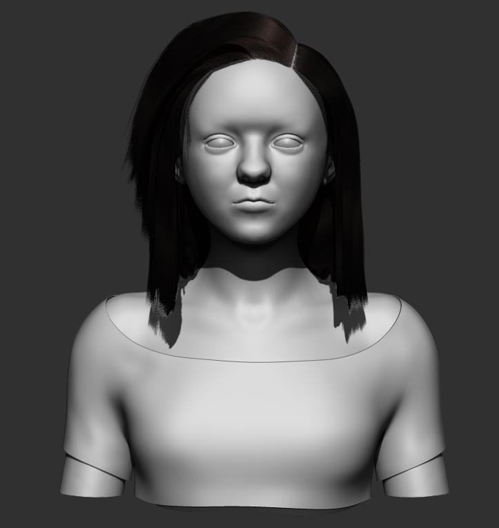 Maisie Williams Sculpt 19