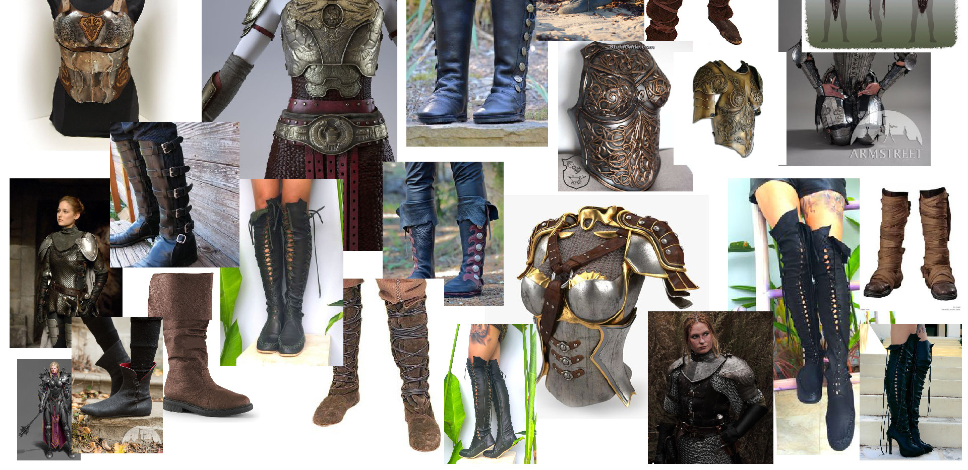 Half-Orc Clothing Concept