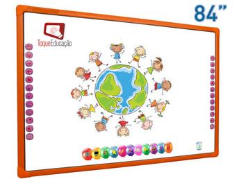 """Conheça a nova lousa digital Toque Educação Babyboard 84"""""""