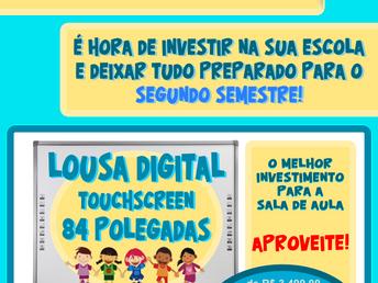 """Promoção de Férias :: lousa digital touchscreen 84"""""""