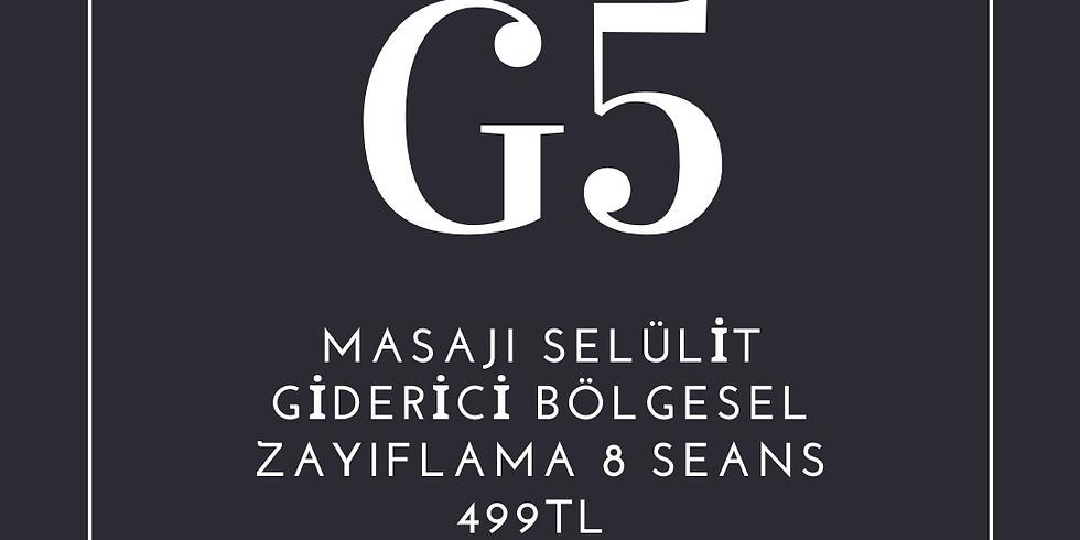 G5 Masajı İle Bölgesel İncelme
