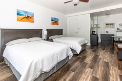 Room 2 - Two Double Beds