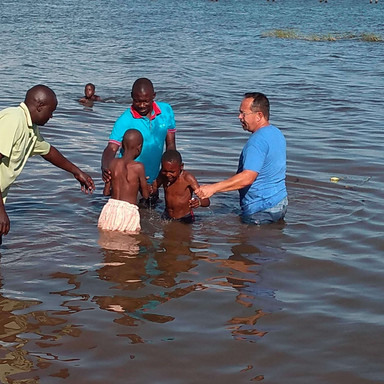 The Nissi Project Water Baptism in Lake Victoria