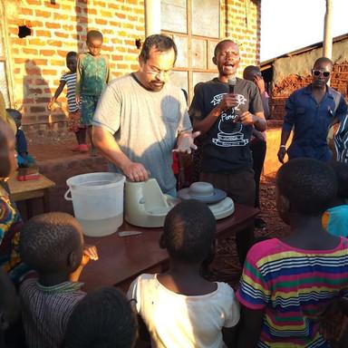 The Nissi Project Uganda Photo Nolan Windholtz teaching pottery