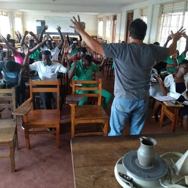 The Nissi Project Schoolhouse Praying Children