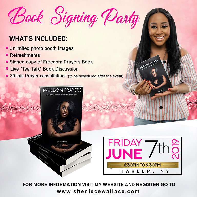 Freedom Prayers Book Signing Party