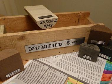 Petroleum Geology Exploration Box