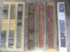 Selection of core slabs