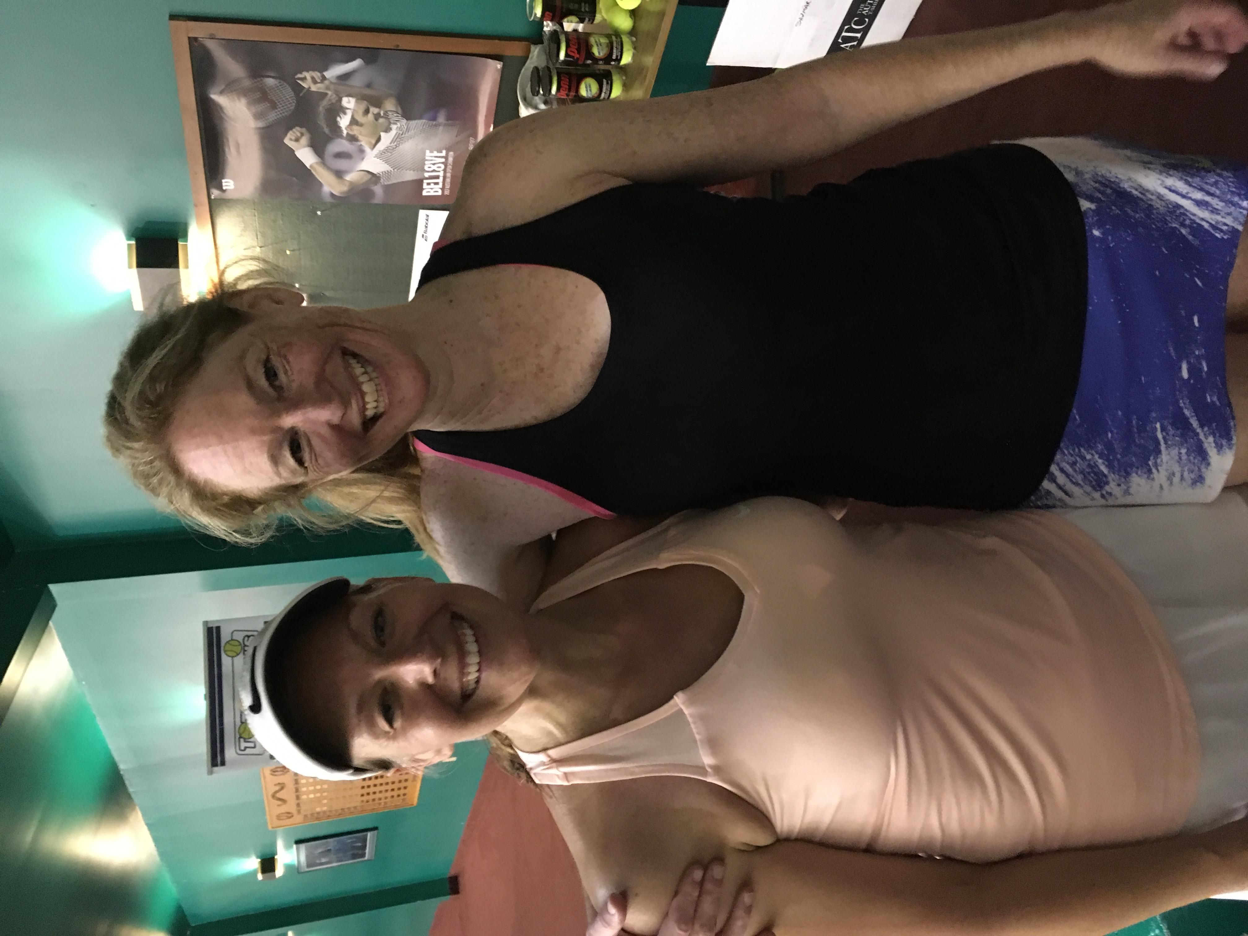 Women's Open winner Kylea Potvin finalist Ann Douglas Agent Early Bird