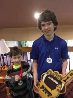 Junior Club winner Stoyan Sendov finalist Jack Kribs Chute Electric Spring Slam