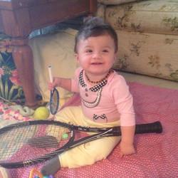 Tennis Cuteness