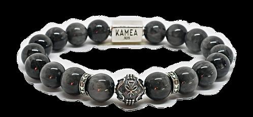 Mana'o Bracelet 10mm Chrysoberyl Cat Eyes