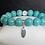Thumbnail: Na Wahine Lanikai Bracelet 10mm Turquoise