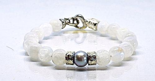 Na Wahine Pearl Kai Bracelet 10mm Moonstone