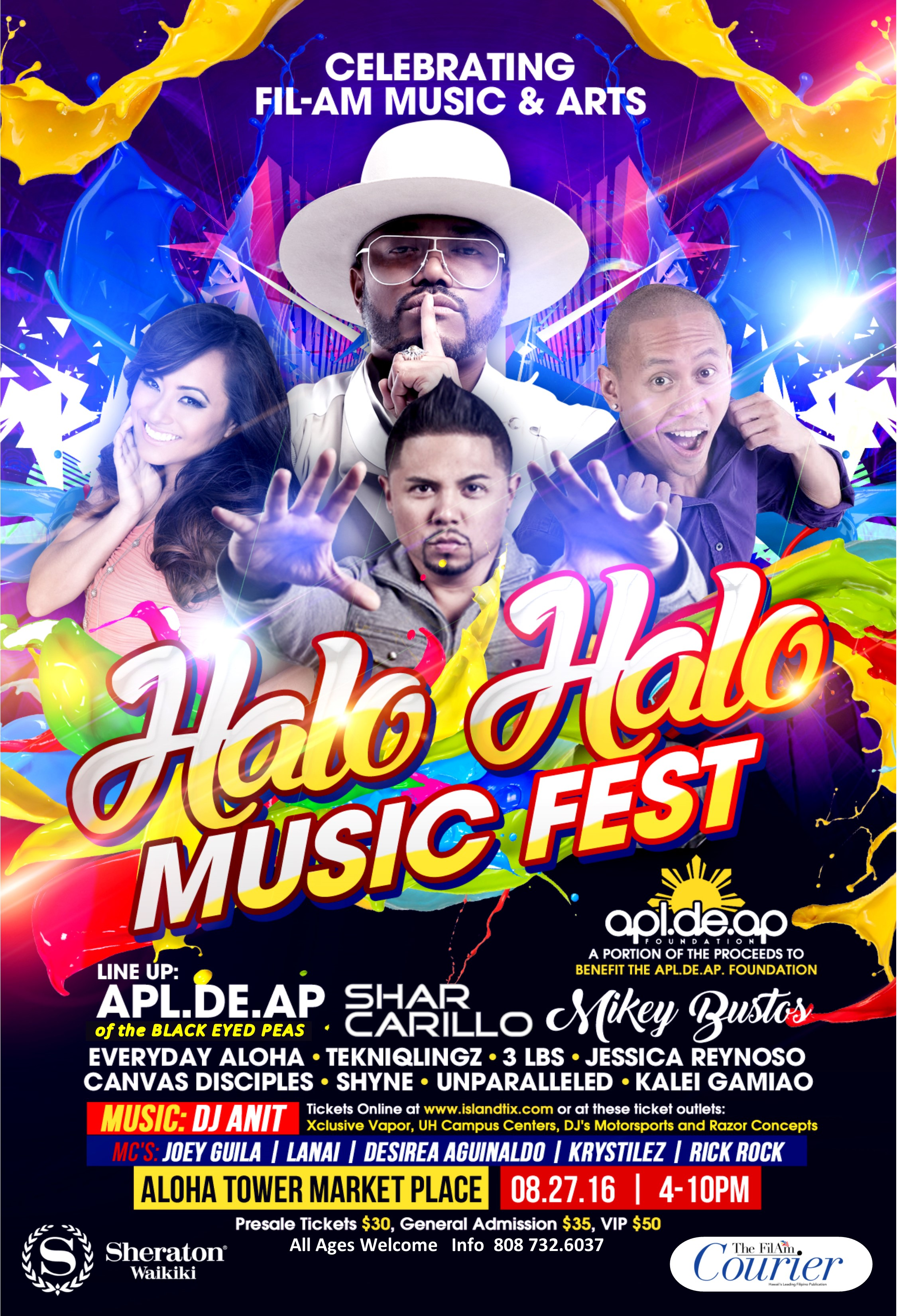 Halo Halo Music Fest Poster
