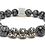 Thumbnail: Black Sands Bracelet 10 mm Obsidian