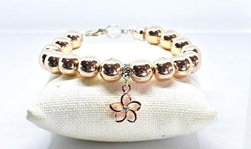 Na Wahine Hualalai Bracelet 10mm Rose Gold