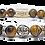 Thumbnail: Nalu Bracelet 10mm Yellow Tiger Eyes