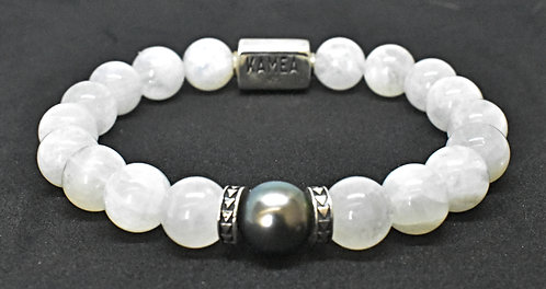 Pearl Kai Signature 10mm Moonstone Bracelet