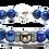 Thumbnail: Pearl Kai Signature Series Bracelet 11mm Blue Kyanite