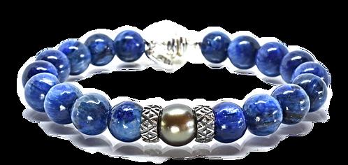 Pearl Kai Signature Series Bracelet 11mm Blue Kyanite
