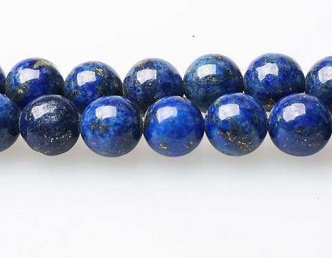 Natural Lapis Blue Beads Strand
