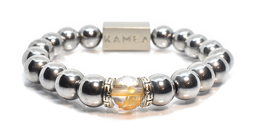 Kala Bracelet 10mm Hematite