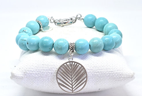 Na Wahine Lanikai Bracelet 10mm Turquoise
