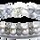 Thumbnail: Pearl Kai Signature 10mm Gray Freshwater Pearls