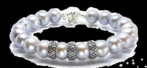 Pearl Kai Signature 10mm Gray Freshwater Pearls