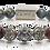 Thumbnail: Honua Bracelet 10mm Blue Sandstone