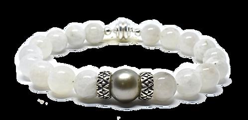 Pearl Kai Signature 10mm Moonstone Bracelet