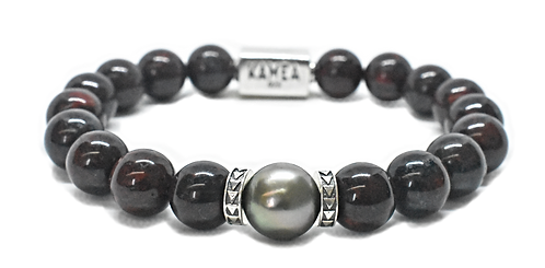 Pearl Kai Signature 10mm Red Garnet Bracelet