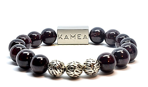 Keahi Bracelet 10mm Red Garnet