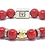 Thumbnail: Scroll Signature Bracelet 10mm Red Coral