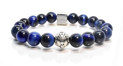 Starry Night GT Bracelet 10mm Blue Tiger Eyes